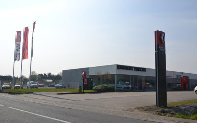 Eén overkoepelende vennootschap: Van Hove Garages nv